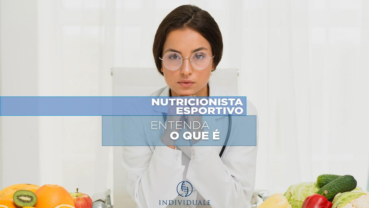 NUTRICIONISTA  ESPORTIVO- Conheça o profissional