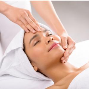 Massagem - Massagem facial e com cristal